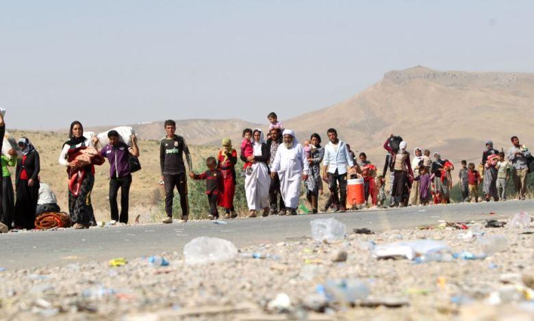"""صورة هربت من """"عبوديته"""" في العراق ،فوجدت سجانها الداعشي  في ألمانيا"""