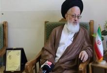 صورة ممثل المرشد الايراني يعلق على المواقف العراقية من العقوبات الامريكية