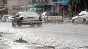 صورة منخفض جوي و امطار رعدية قادمة الى العراق