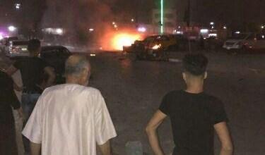 صورة اصابة ثلاثة مدنيين بانفجار وسط كركوك