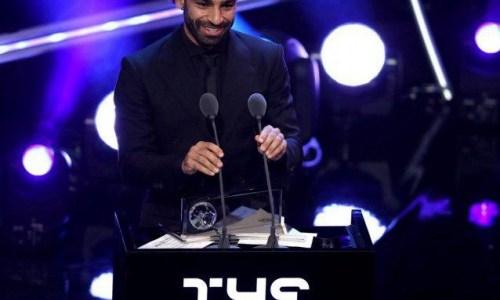 محمد صلاح يفوز بجائزة أجمل هدف لعام 2018
