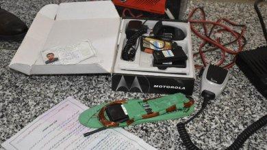صورة بالصور..الكشف عن اجهزة الكترونية وعجلات مموهة تستخدم في الغش