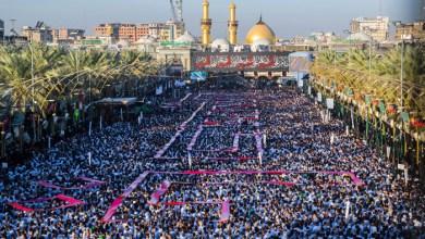 صورة اكثر من 10 مليون زائر يحي اربعينية الامام الحسين
