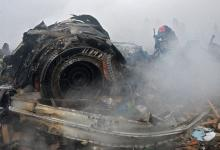 صورة تحطم طائرة شحن في منطقة سكنية غرب طهران ومقتل جميع ركابها