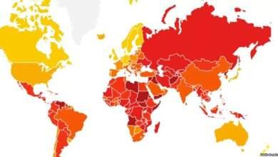 """صورة العراق السادس """"عربياً"""" والثالث عشر """"عالمياً"""" في اكثر دول العالم فساداً"""