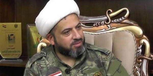 """الحشد الشعبي يعتقل الشيخ """"أوس الخفاجي"""" ويغلق مقره في الكرادة!"""