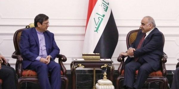 عبد المهدي لوفد إيراني:العراق لن يكون مع العقوبات ضد إيران!