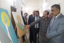 صورة قصر الثقافة ينظم معرضا تثقيفيا للبوستر في مفوضية الانتخابات
