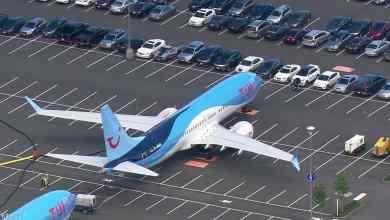 """صورة بالصور.. بوينغ تركن طائرات 737 ماكس في """"أغرب مكان"""""""