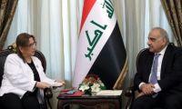 رئيس مجلس الوزراء عادل عبدالمهدي يستقبل وزيرة التجارة التركية روهصار بكجان