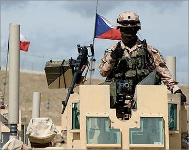 صورة التشيك تسحب جنودها من العراق وتوضح الاسباب