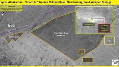 صورة أنفاق لتخزين الأسلحة.. صور الأقمار تكشف خطة إيران شرقي سوريا