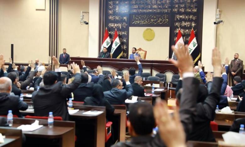 صورة الاتفاق على التصويت العلني في جلسة منح الثقة لحكومة الكاظمي
