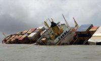 النقل : غرق سفينة ايرانية في المياه العراقية