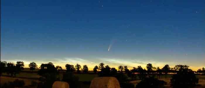عرض ضوئي فوق الأرض لن نراه ثانية قبل 6800 عام !