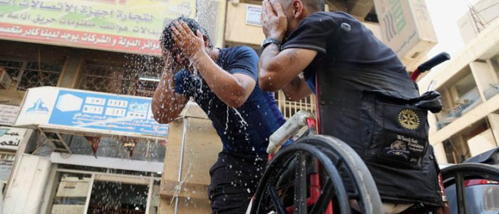 موعد انتهاء موجة الحر في العراق