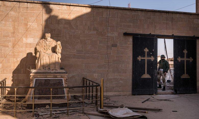 صورة مسيحيو سنجار، دون كنائس ودون منازل