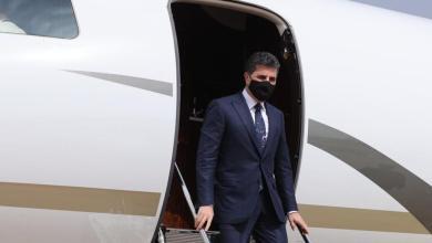 صورة رئيس إقليم كوردستان يختم زيارته إلى لندن ويعود لأربيل