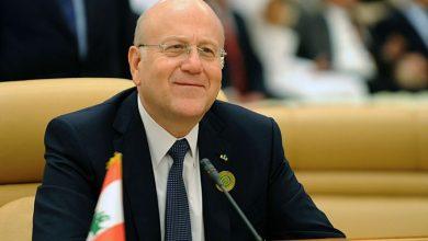صورة رئيس الوزراء اللبناني في بغداد لساعات محدودة