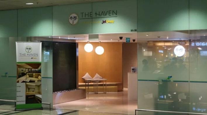 シンガポールチャンギ空港ラウンジThe Haven(ザ・ヘイブン)は深夜便到着時に便利