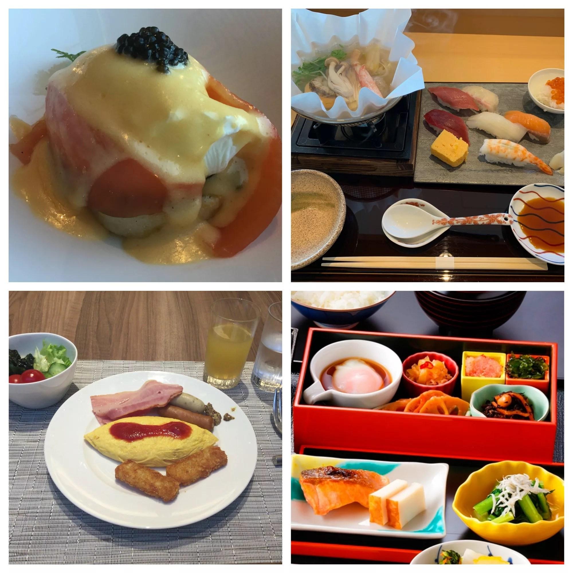 ホテルグランドニッコー東京台場は朝食を5種類から選択可能!ブッフェから寿司まで