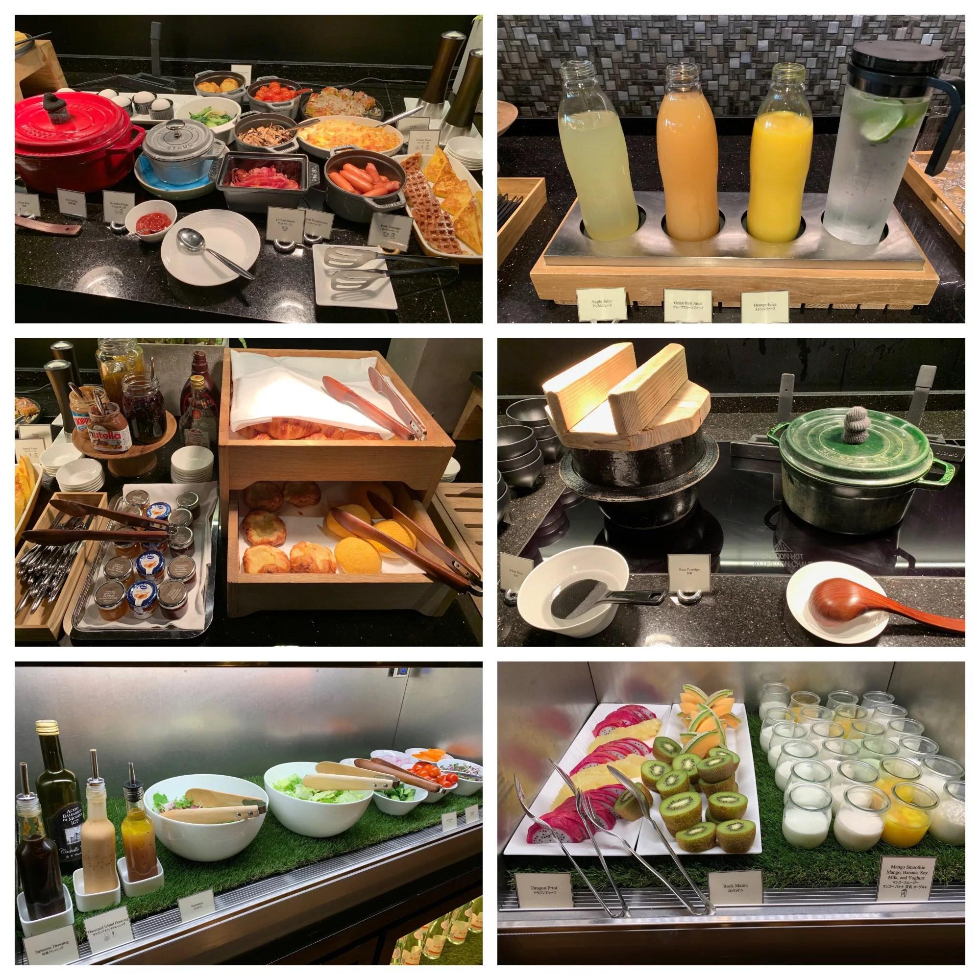 コンラッド大阪エグゼクティブラウンジ朝食提供が復活!アトモスダイニングとの比較