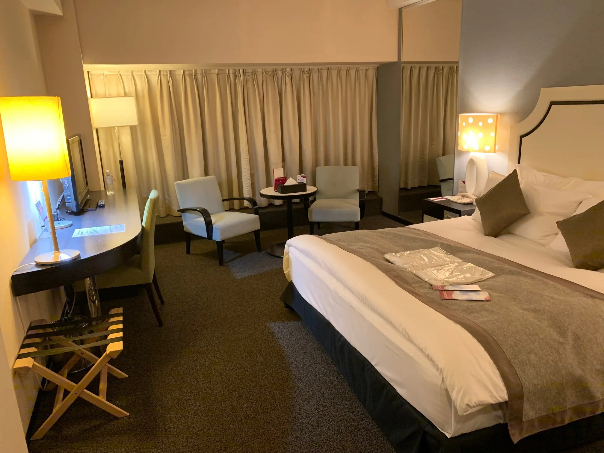 ANAクラウンプラザホテル熊本 スーペリアダブル宿泊記