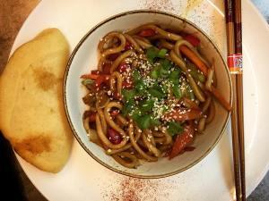 Vegetarian Udon