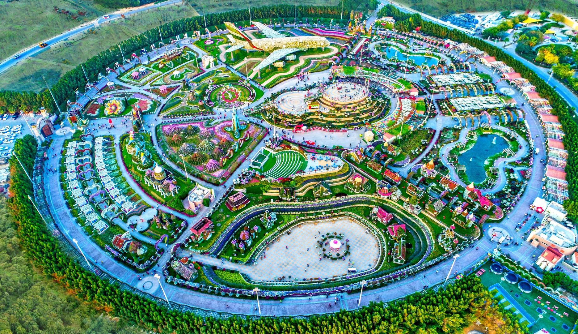 Akar Landscaping  Dubai Miracle Garden  Dubai Miracle Garden