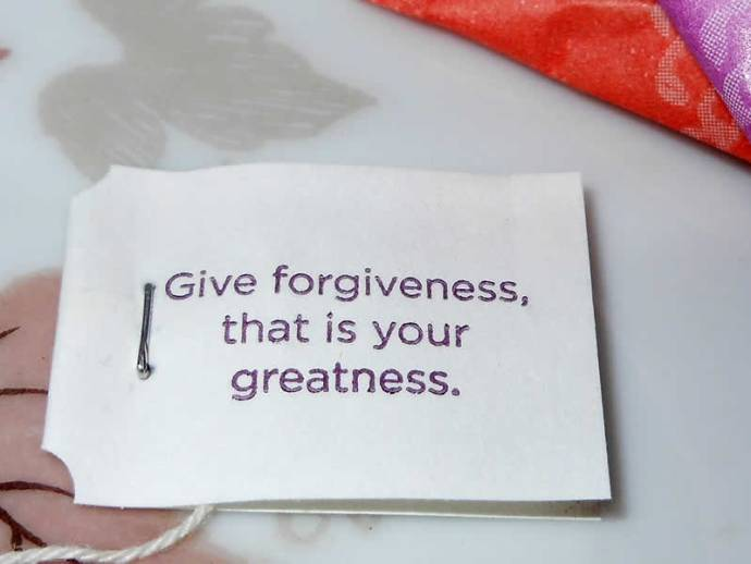 """""""Give forgiveness, that is your greatness."""""""