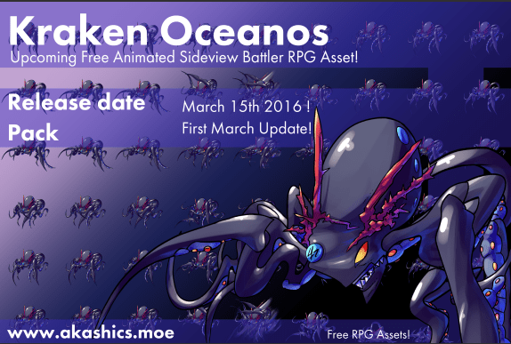 Out in the Keisian seas, it is said a monstruous octopus guards the entrance to an ancient underwater temple. Wheter said temple actually exists or not, Oceanos has not been nicknamed the sea emperor for nothing! It's colossal size pales in comparison to the high level magic and ferocity he tends to display!