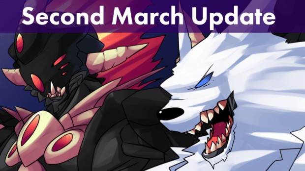 Second March Update Banner
