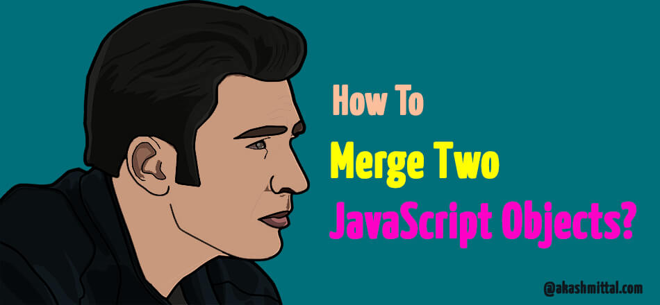combine and merge two javascript objects