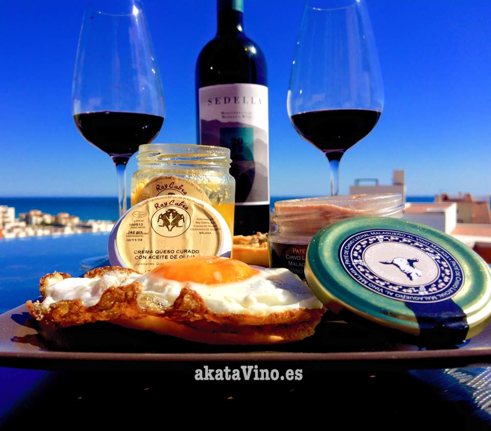 Plato y Vino Enogastronomia Sedella Mountain Wine 2012