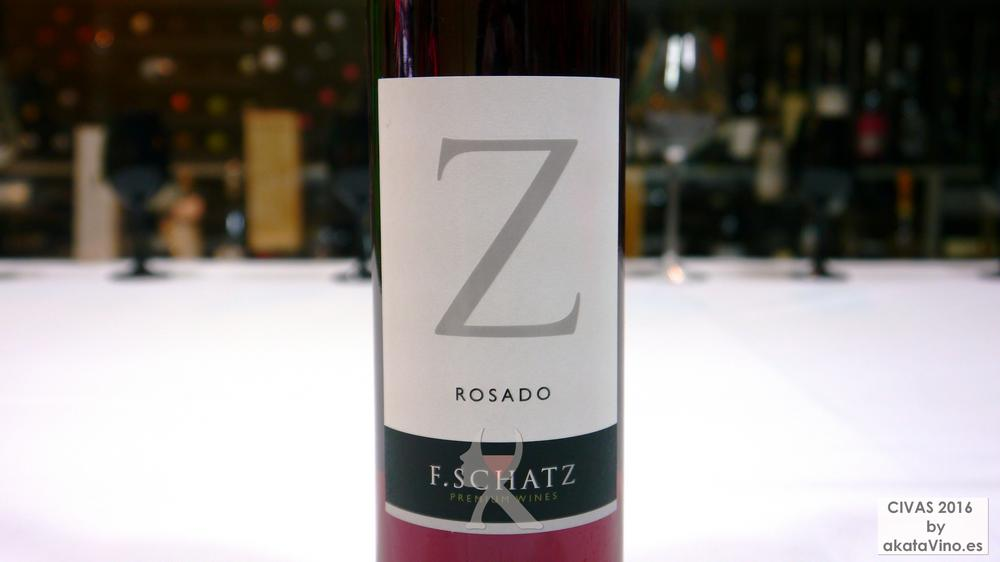 F. Schatz Rosado 2014 TOP 4 Mejores Vinos Rosados de España 2016 Ranking AkataVino