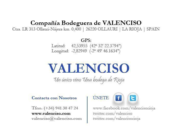 Dossier !2 Experiencias Valenciso. Enoturismo en Ollauri