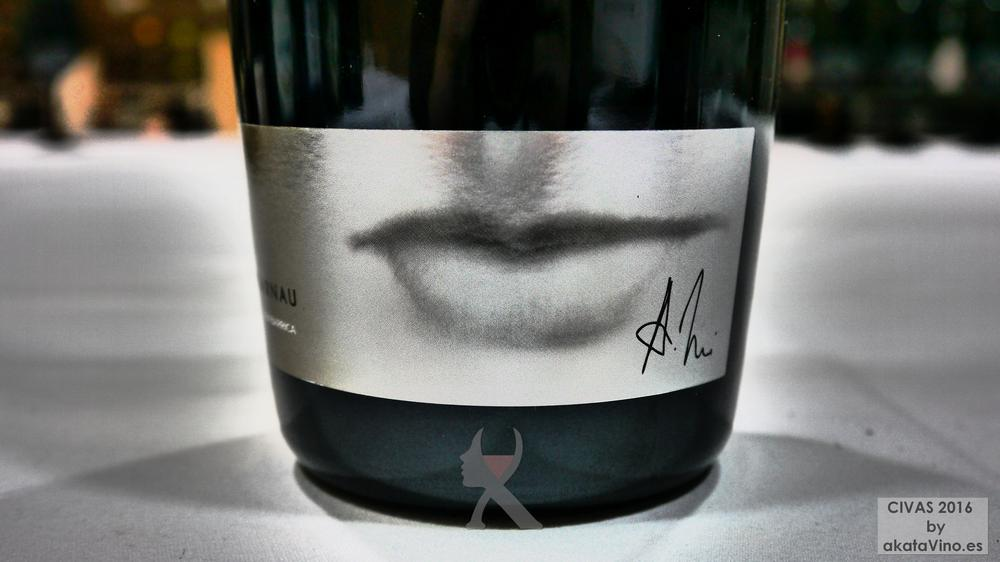 ALBERT DE VILARNAU FERMENTADO EN BARRICA 10 Mejores Vinos Espumosos del año Premios akataVino CIVAS 2016 © akataVino (6)