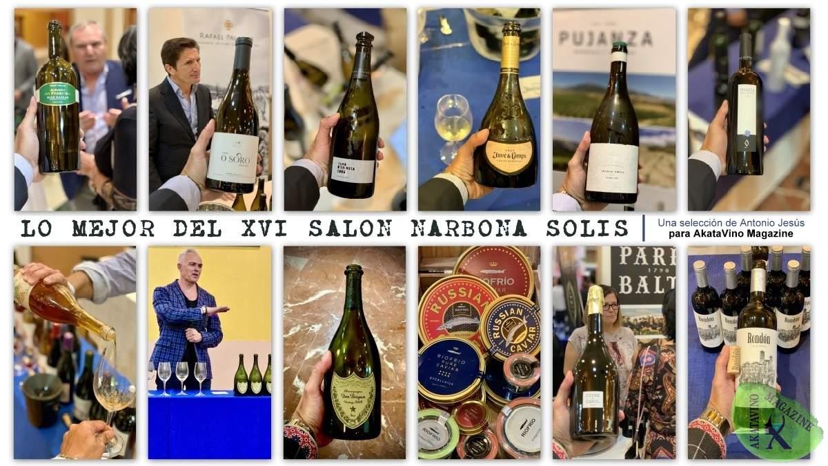 Lo mejor del XVI Salón de Vinos y Gastronomía Narbona Solís | Destacados de AkataVino Magazine