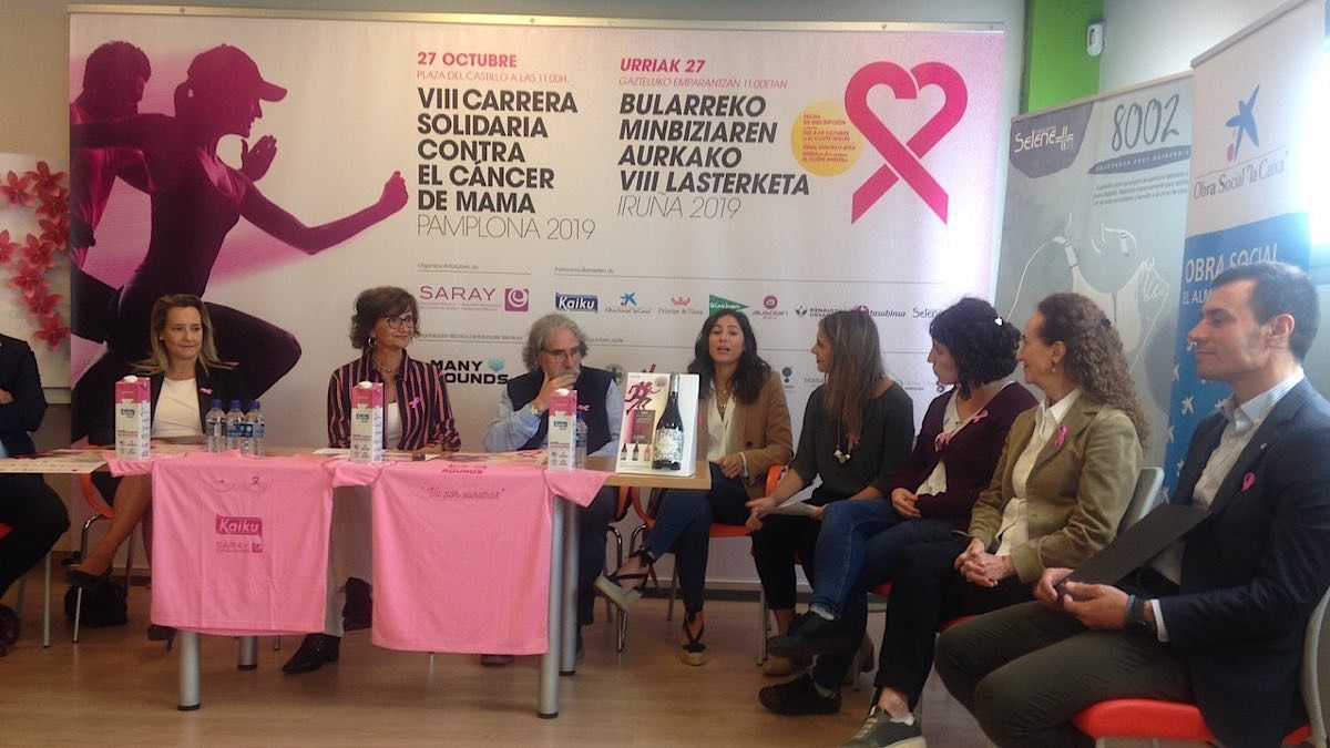 SARAY y Bodegas Príncipe de Viana, juntos en la VIII Carrera Solidaria contra el Cáncer de Mama | AkataVino