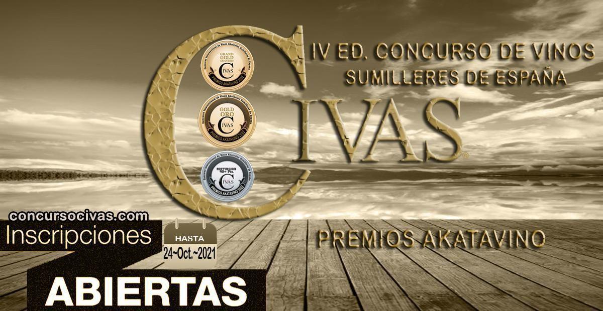 Abierto plazo inscripciones de bodegas IV Concurso CIVAS | Premios AkataVino