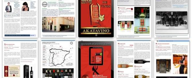 Collage Presentacion Guia de Vinos AkataVino 2018