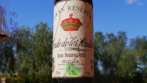 Gran Reserva Rioja Conde de los Andes GR 1955 © Akatavino.es (1)