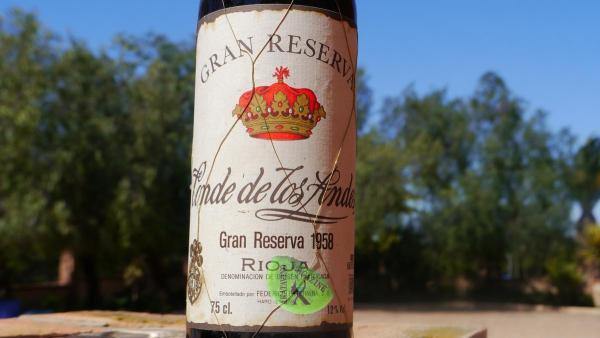 Gran Reserva Rioja Conde de los Andes GR 1958 © Akatavino.es (1)