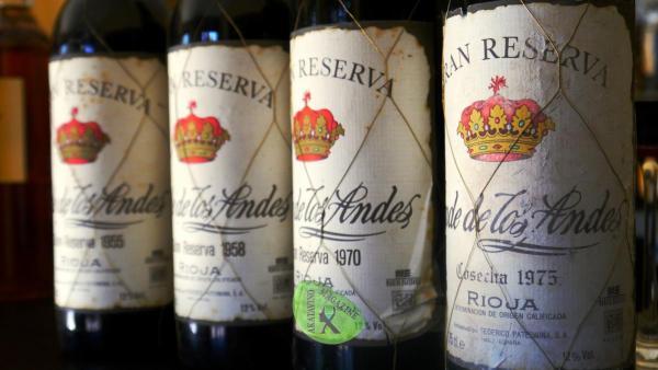 Gran Reserva Rioja Conde de los Andes Gran Reserva añadas © Akatavino.es