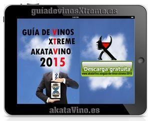 Guia de Vinos Xtreme 2015 Anuncio Tablet © akataVino