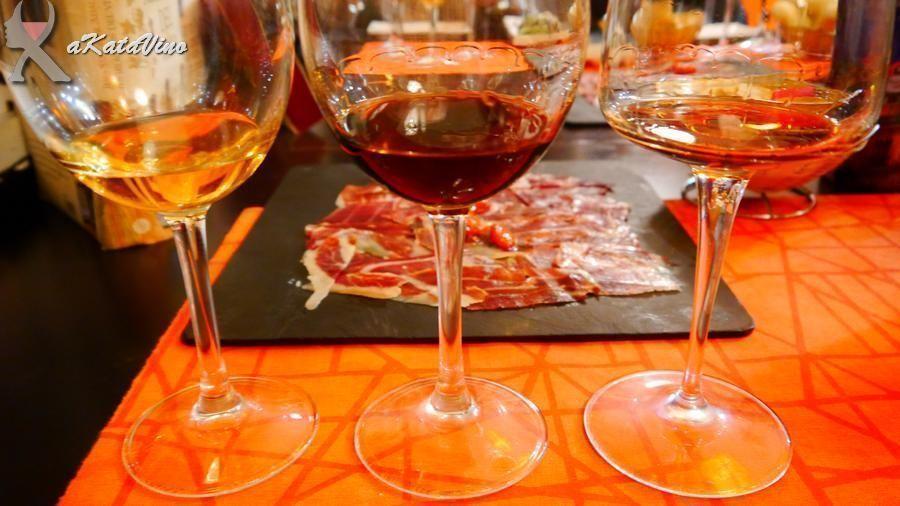 La visual de los vinos jerezanos © akataVino.es