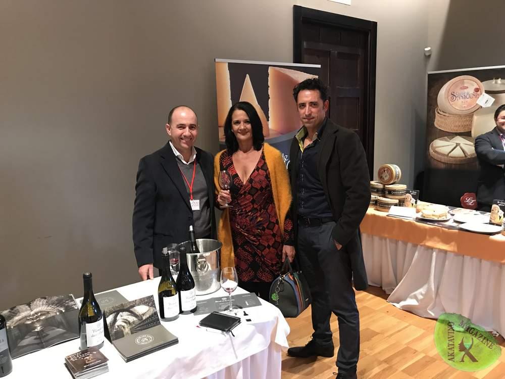 Equipo de Akatavino con Eladio Fernandez Muriel Wines