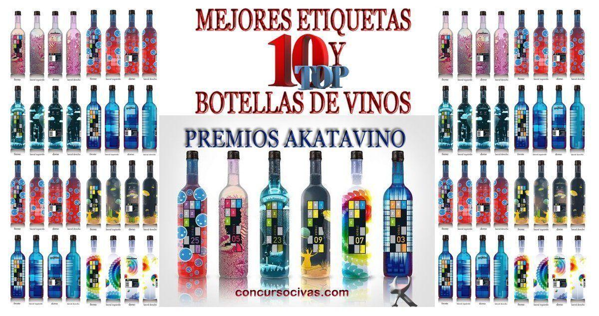 Las 10 Mejores Etiquetas y Botellas de Vinos 2018 | Premios AkataVino Magazine