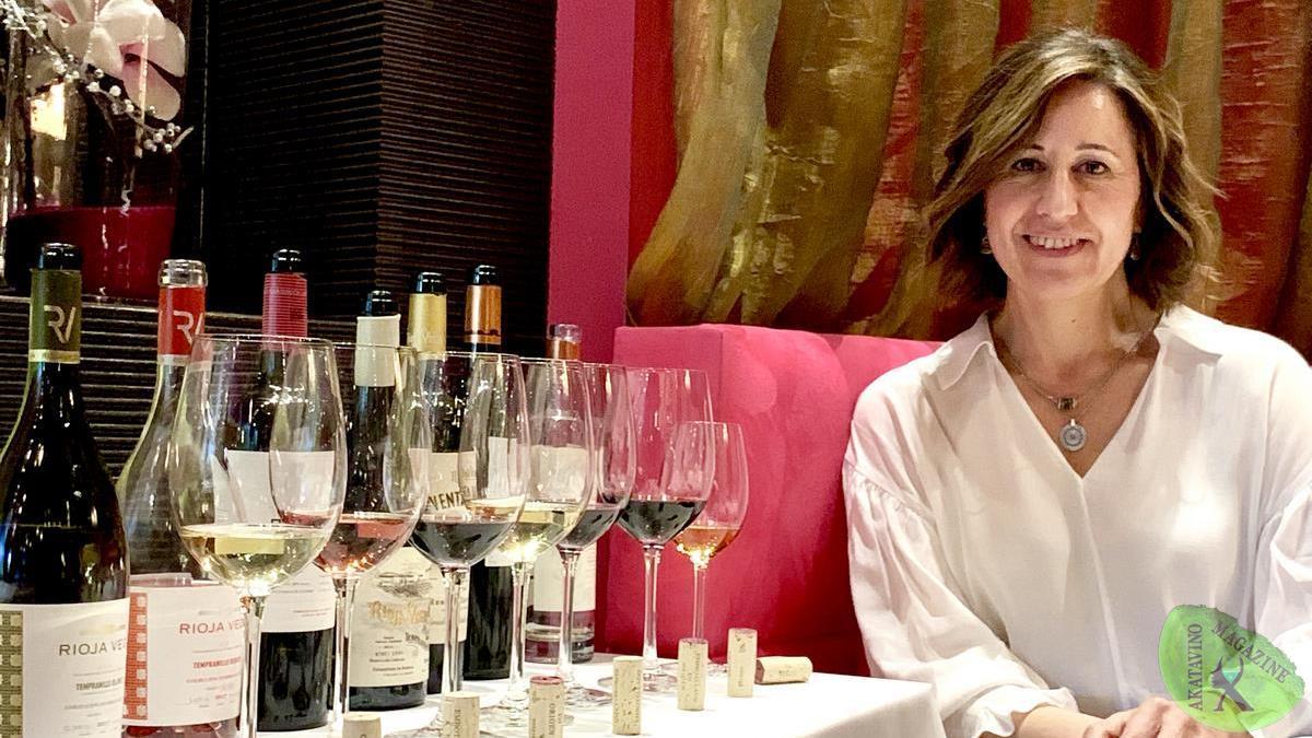 La Enóloga Esperanza Elías presenta Venta Jalón el nuevo Reserva Especial de Rioja Vega