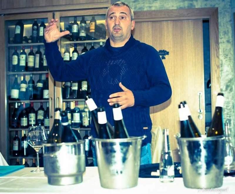 Viticultor Rodrigo Méndez